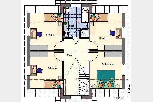 1 5 geschosser b b haus wir bauen ihr haus. Black Bedroom Furniture Sets. Home Design Ideas